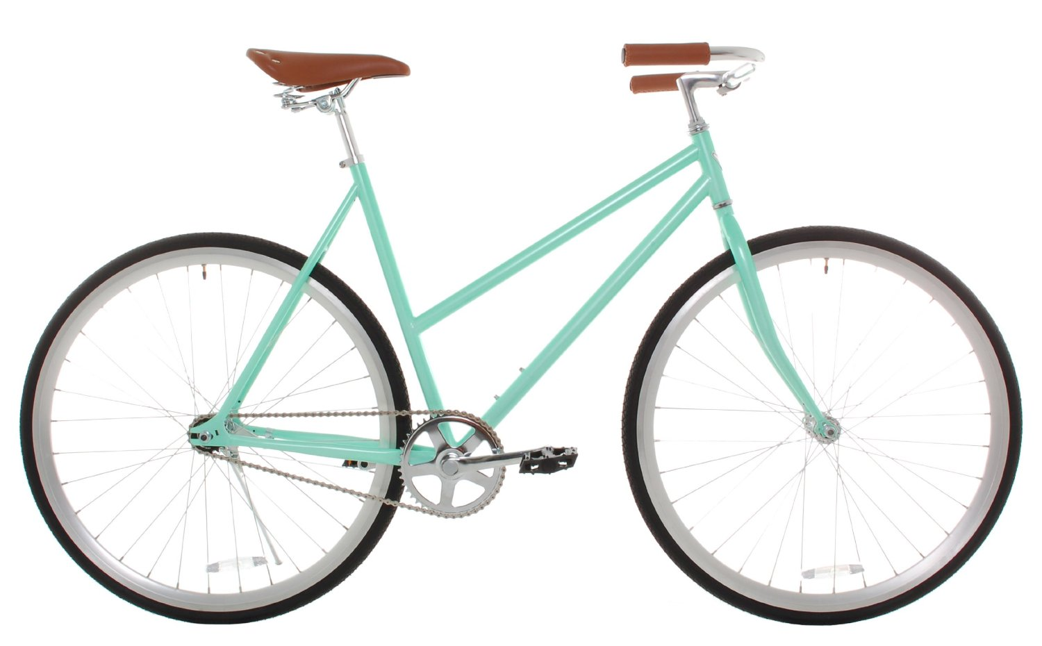 Vilano Women's Classic Urban Commuter Single Speed Bike