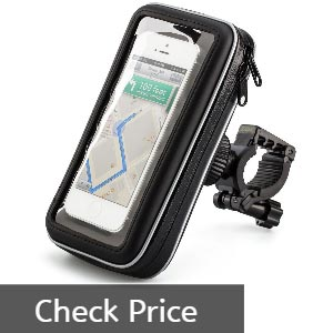 iKross Water Resistant Phone Mount Review - Best bike phone mounts
