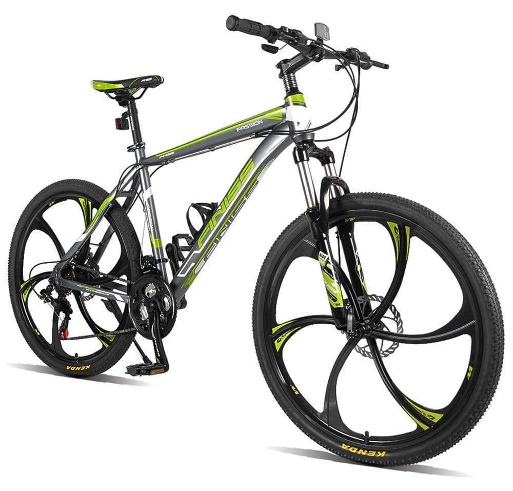 "Merax® Finiss 26"" Aluminum 21 Speed Mg Alloy Wheel Mountain Bike"