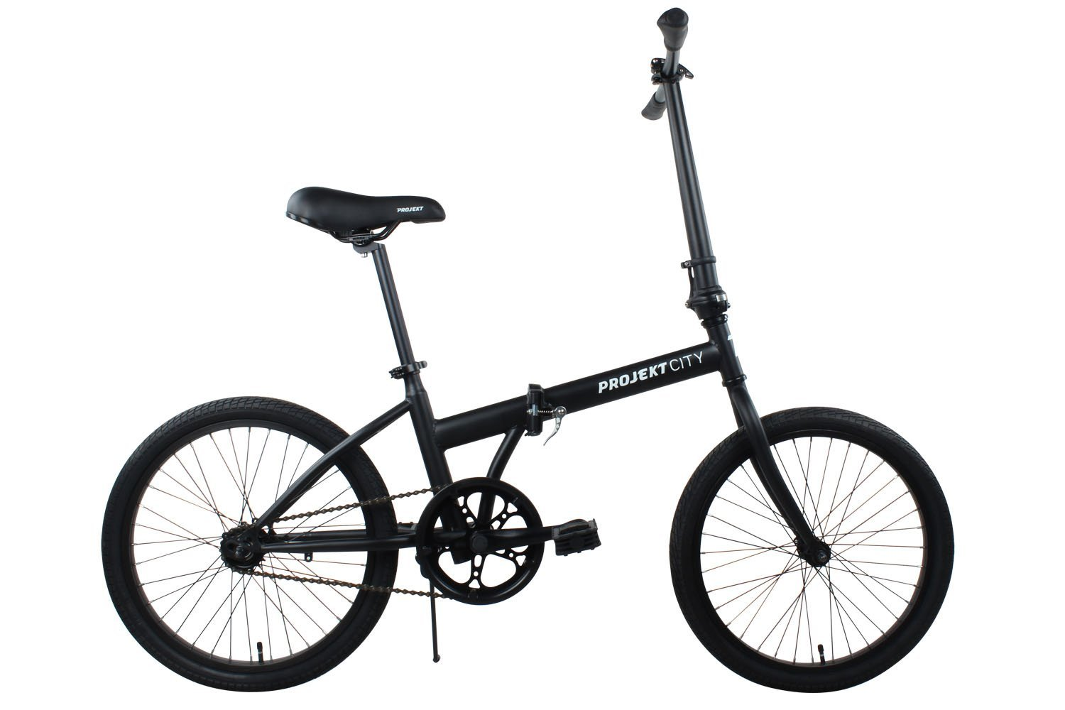 Projekt City - 20 inch City Bike Compact Folding Single Speed Uno College Bicycle