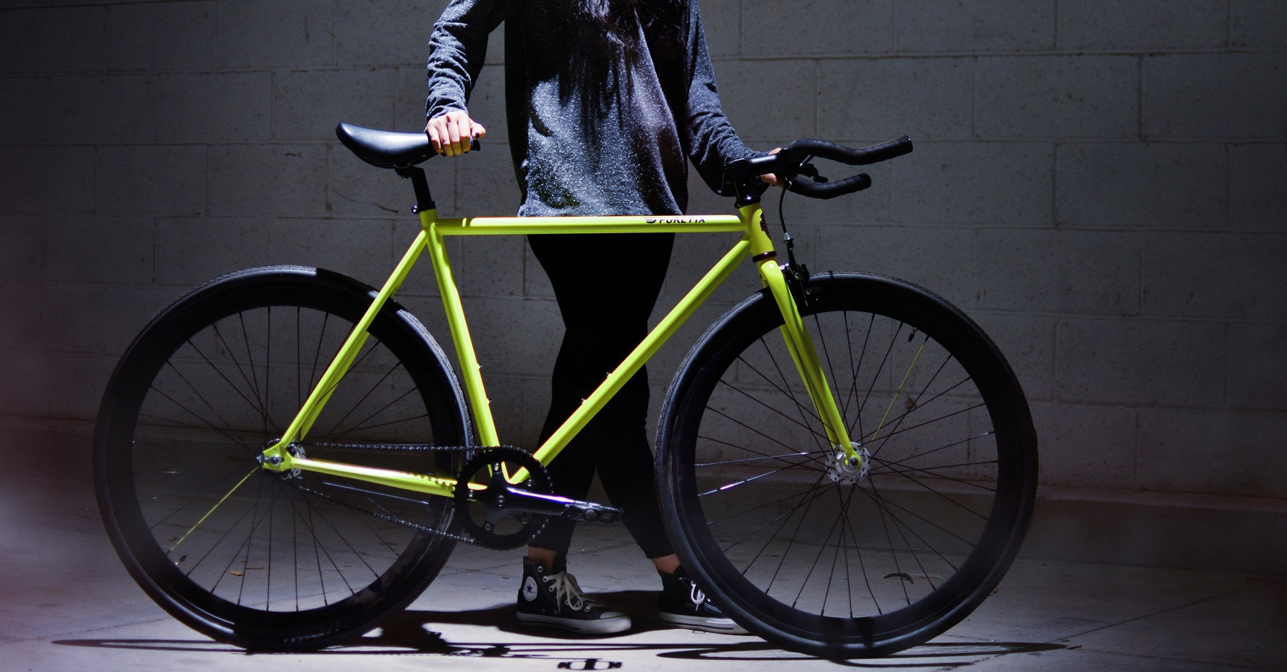 Pure Fix Glow in the Dark Fixed Gear Single Speed Fixie Bike Review