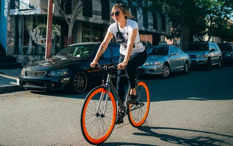 6KU Track Fixed Gear Bicycle Review